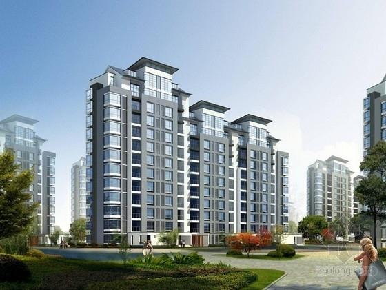 [天津]住宅区规划及单体设计方案文本