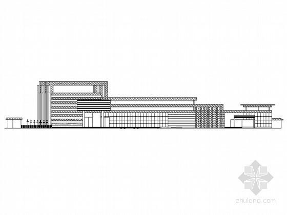 某大学汽车站设计方案(含素模等)