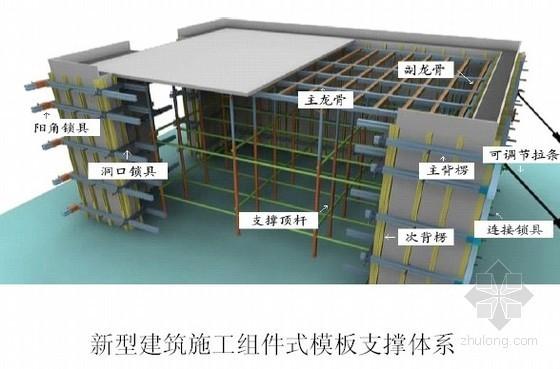 新型组件式建筑模板支撑体系介绍