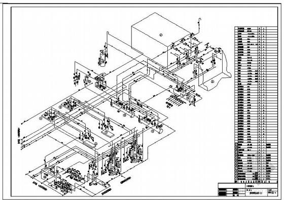 某冷库设计(机房部分)图