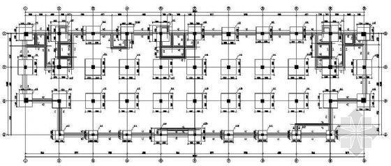 某钢铁企业公司工业区办公楼结构图
