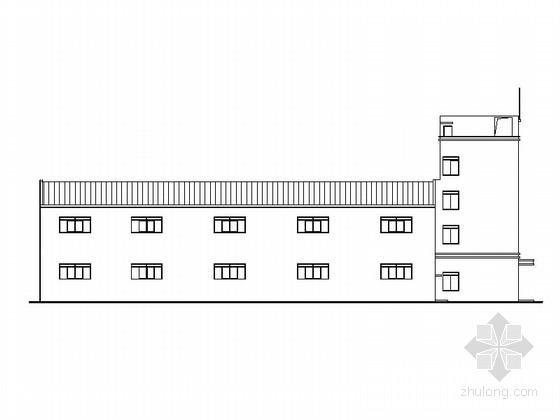 [湖南]现代风格包装装潢印刷厂建筑施工图