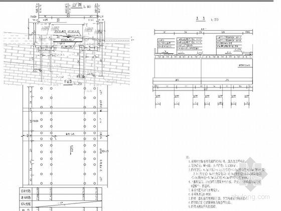 [浙江]1-20米装配式后张法预应力混凝土简支空心板桥施工图41张(2015年)