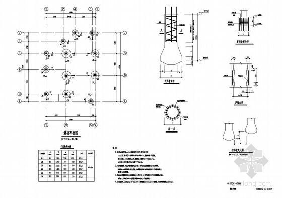 武汉某3层坡屋顶框架别墅全套建筑结构设计图
