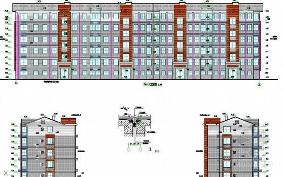 [江苏]拆迁安置房小区项目建筑安装工程量清单预算(配套施工图99张及说明)