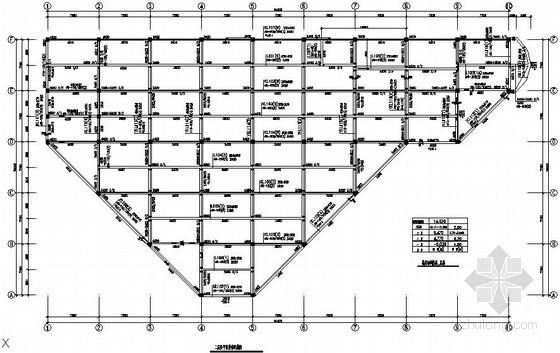 [南京]局部4层框架农贸市场结构施工图