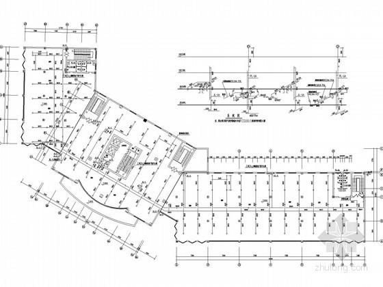 十四层商业办公楼给排水图纸