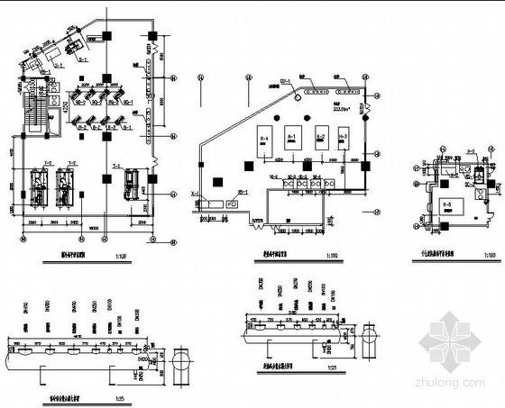 换热机房一分钟一开的快三怎么倍投图纸资料下载-某大厦换热制冷站设计图纸