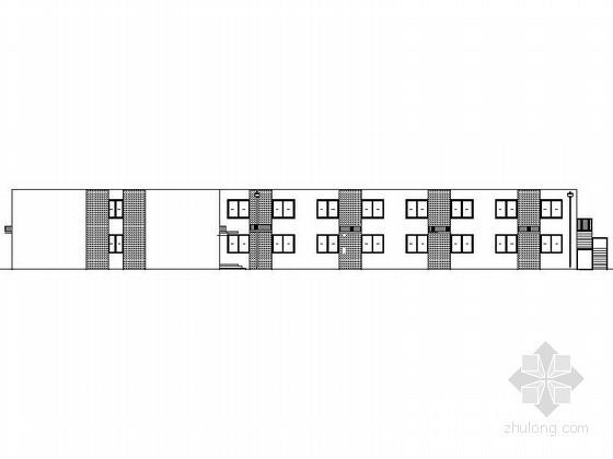 某集团二层职工公寓建筑施工图