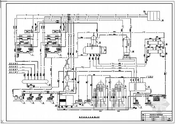 长春市某工厂锅炉房设计图.图片