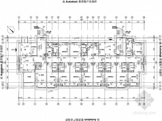 [江苏]职工宿舍采暖通风设计图纸