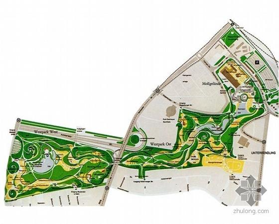 国外公园方案设计