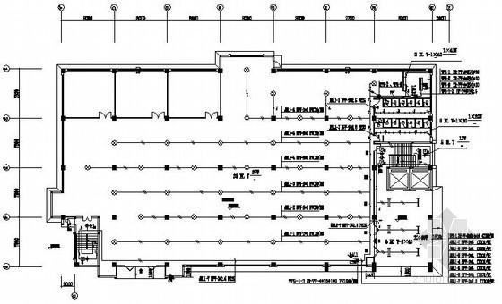 工业厂房电气施工图纸