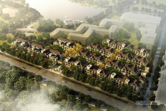 [江苏]欧式风格低密度高档别墅住宅区设计方案文本(含CAD)