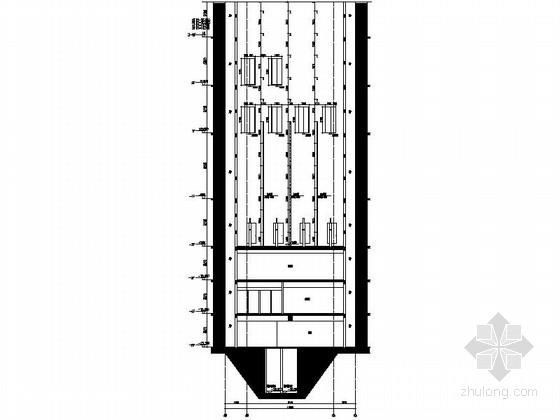[深圳]超高层现代风格商务公寓式办公楼建筑施工图(含人防)