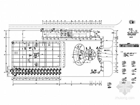 混合结构及多层框架结构游泳池结构施工图