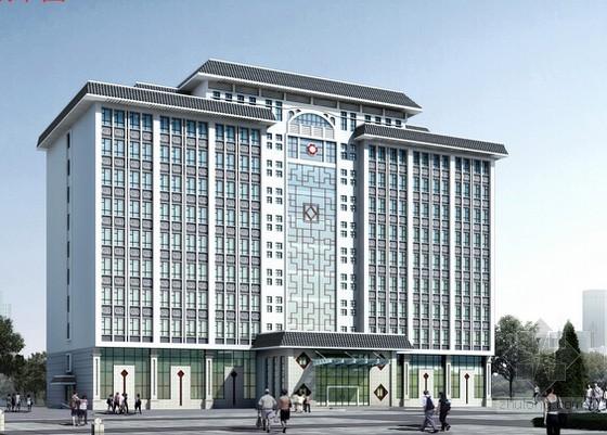 [重庆]中医院门诊楼装修改造工程预算书(含图纸)