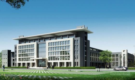 [山东]教学楼建筑安装工程量清单控制价及招标文件(含全套图纸)