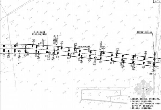 [湖北]51.5m单箱双室等截面预应力现浇箱梁桥施工图373张(桥长1030m 知名大院)