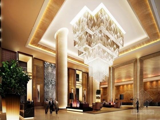 [合肥]高端繁华都市商圈五星级商务酒店设计方案