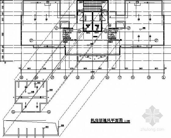 [安徽]住宅楼热水集中采暖系统设计施工图