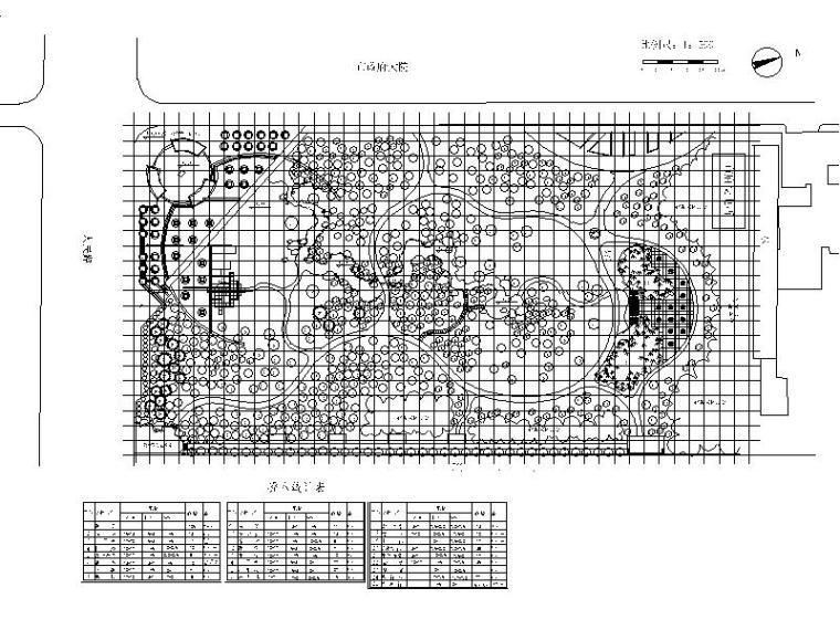 乔木种植设计