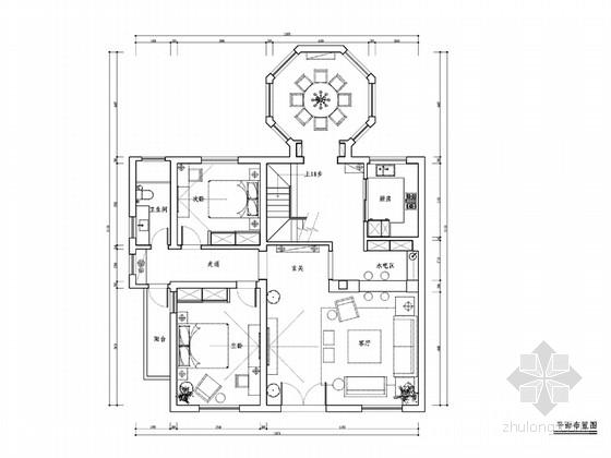 [杭州]时尚清新又精致的别墅设计方案(含实景图)