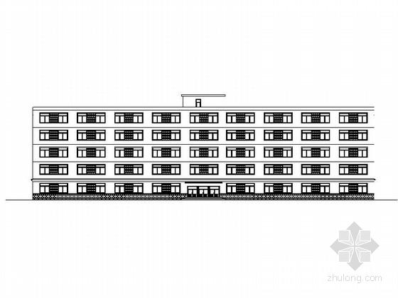 [河北]多层现代大学学生公寓建筑施工图