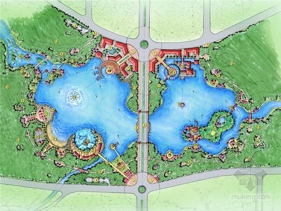 [峨眉山]滨河生态游憩公园景观设计方案