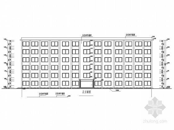 [学士]六层框架结构中学教学楼毕业设计(含建筑图 结构图 任务书)