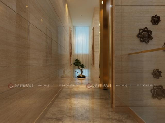 第一次见到这么美的私人办公会所设计效果图-7楼梯间.jpg