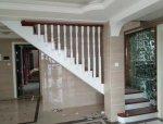 家用复式楼梯阁楼实木楼梯之实拍图片