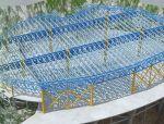 湘江欢乐城冰雪世界主体钢构封顶