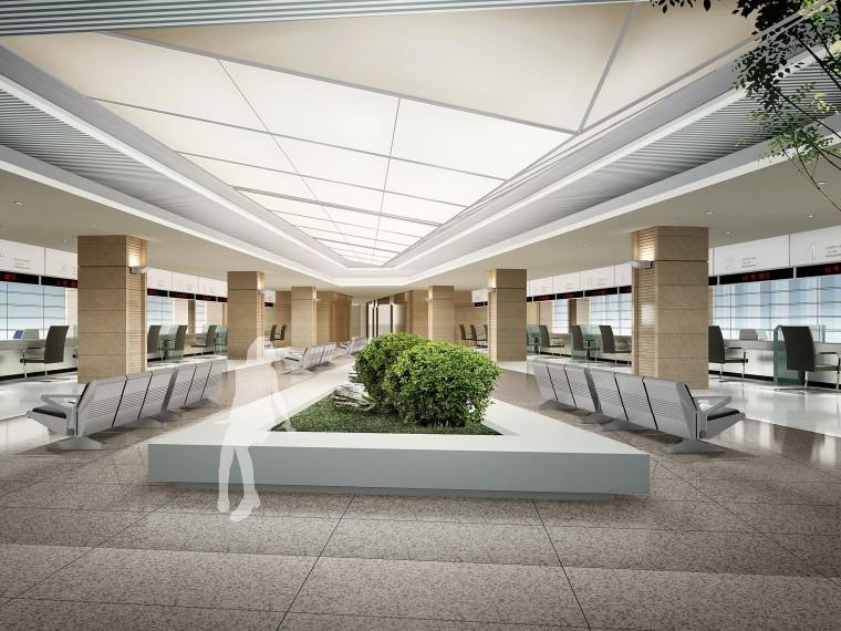 金螳螂设计——中国石油管理局办公楼室内装修概念设计方案