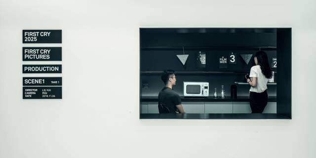 一个关于电影的办公空间,每个角落都有镜头感!_8
