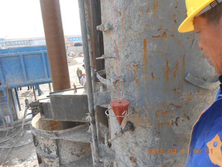 提高钻孔灌注桩一次验收合格率QC成果-垂直度检测
