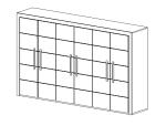 bim软件应用-族文件-书柜