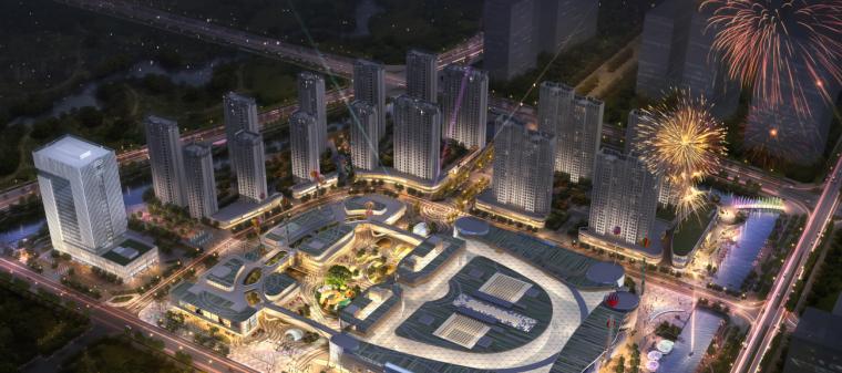 [浙江]宁波银泰匯城市规划景观概念性设计(现代风格)_2