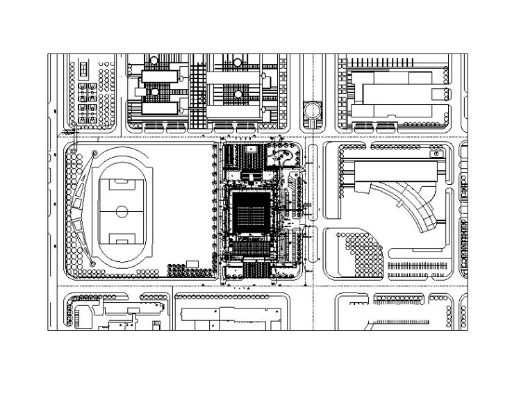 天津师范大学体育馆给排水安装工程施工图