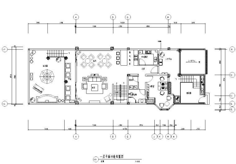 [四川]雅安某三层别墅设计施工图及实景图