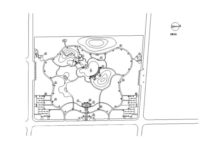 [吉林]长春市某区级公园施工图
