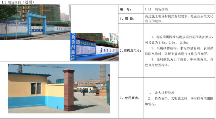 智峰地产泽鑫华庭项目现场安全文明施工技术标准