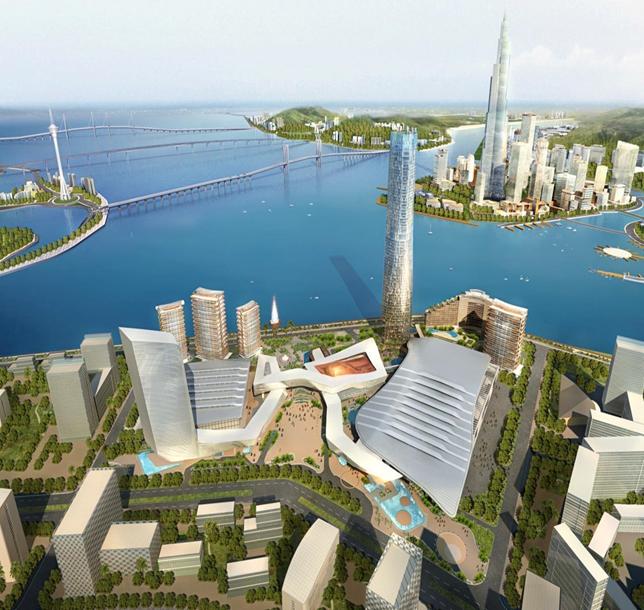 珠海十字门超高层塔楼项目BIM应用