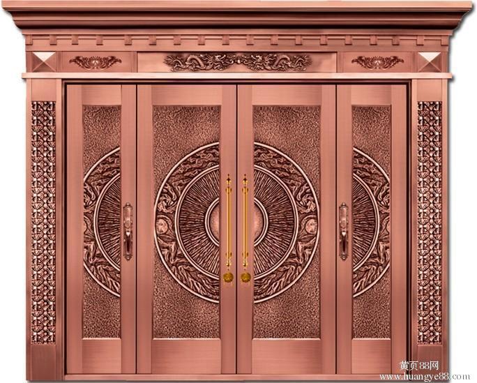 [门窗知识]铜门的优点及防撞