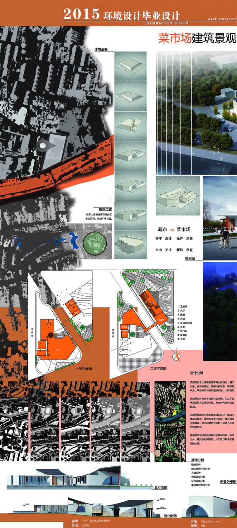 菜市场建筑景观设计_25
