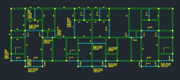 6层框架结构住宅楼建筑结构全套图_6