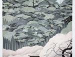 日本浮世绘风格的建筑表现