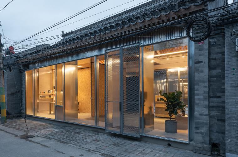 北京PAGEONE办公室与艺文展场改造