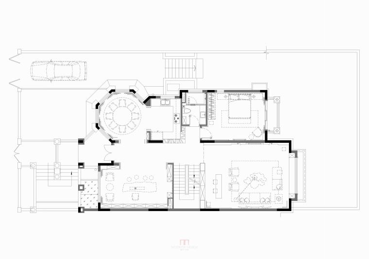 壹城A5区G10-02单元别墅样板房 平面图(24)