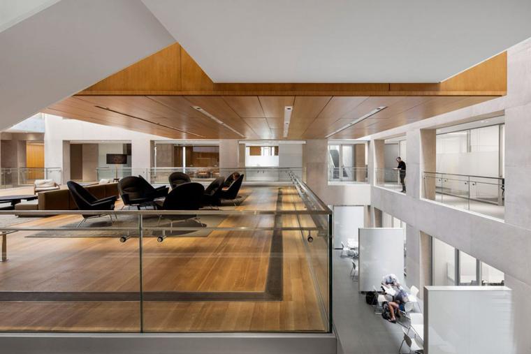 哥特式学术建筑普林斯顿大学校园内部实景图 (11)